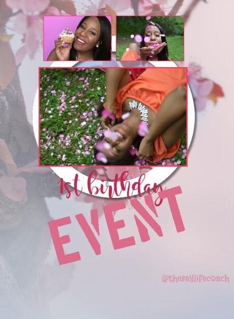 1st birthday event